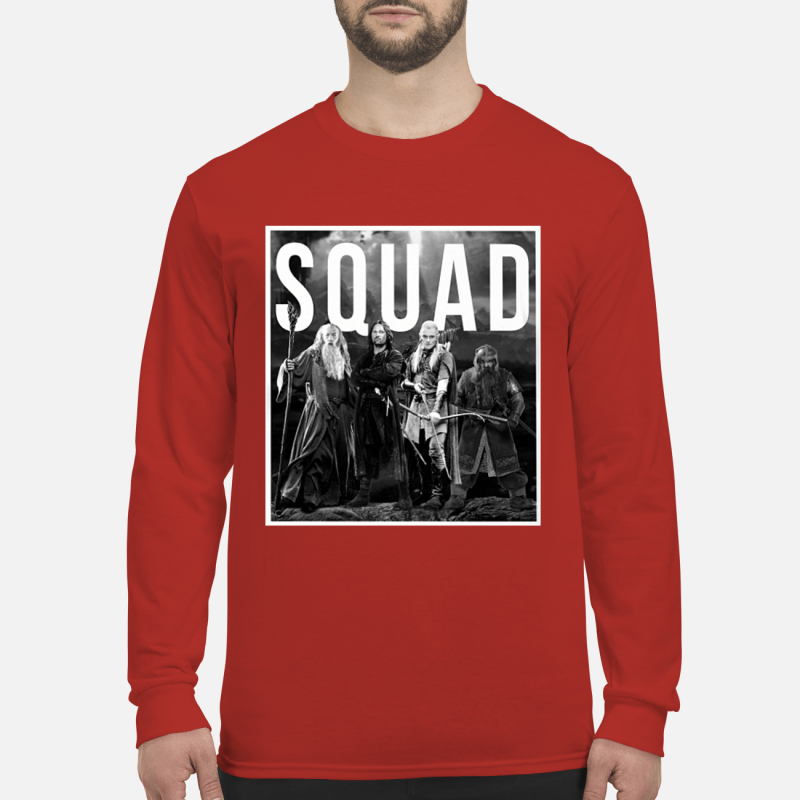 The Lord of the rings squad long sleeved