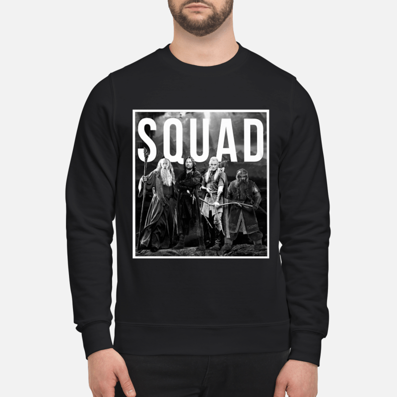 The Lord of the rings squad sweatshirt