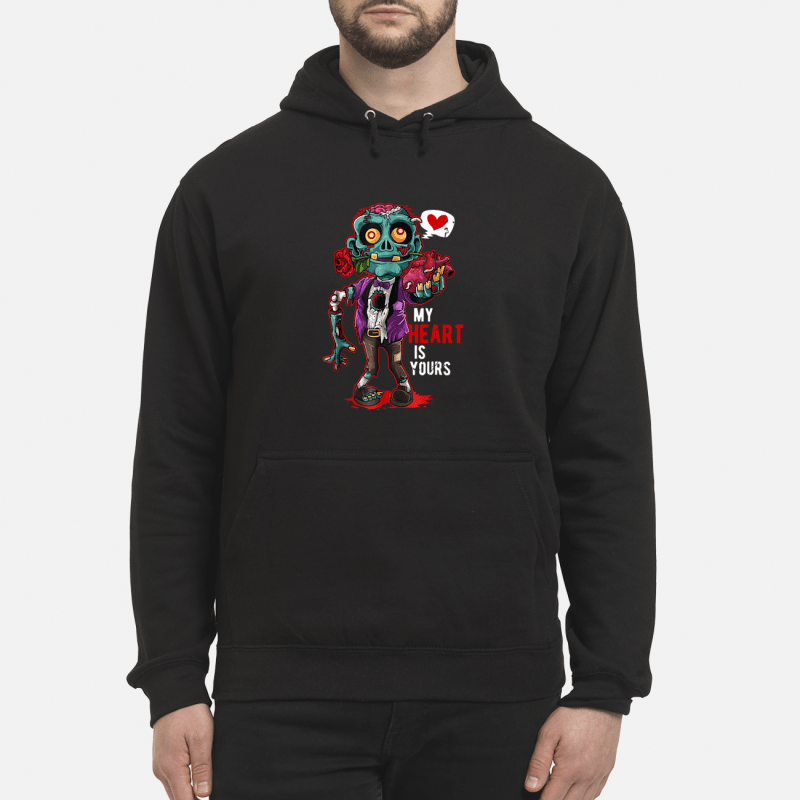 Zombie My Heart Is Yours hoodie