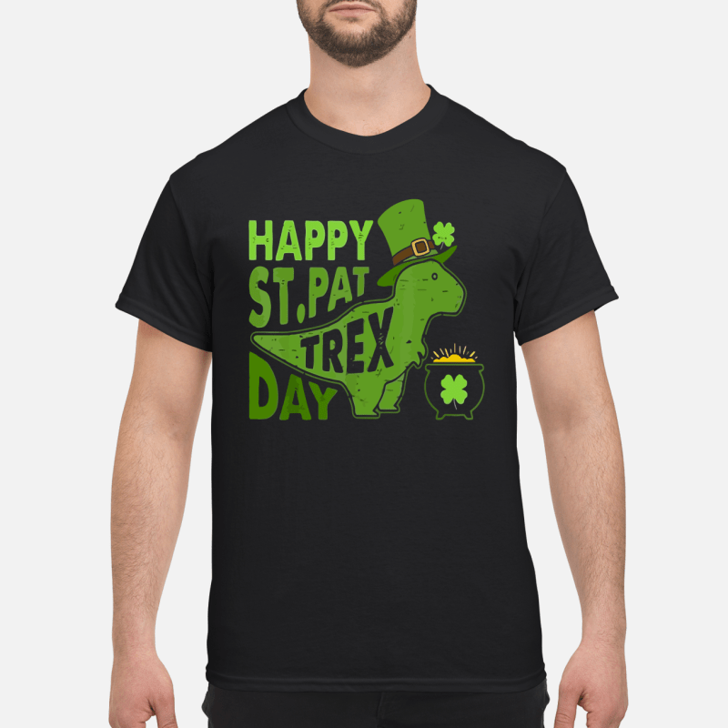 Disnosaur Happy St Pattrex day shirt