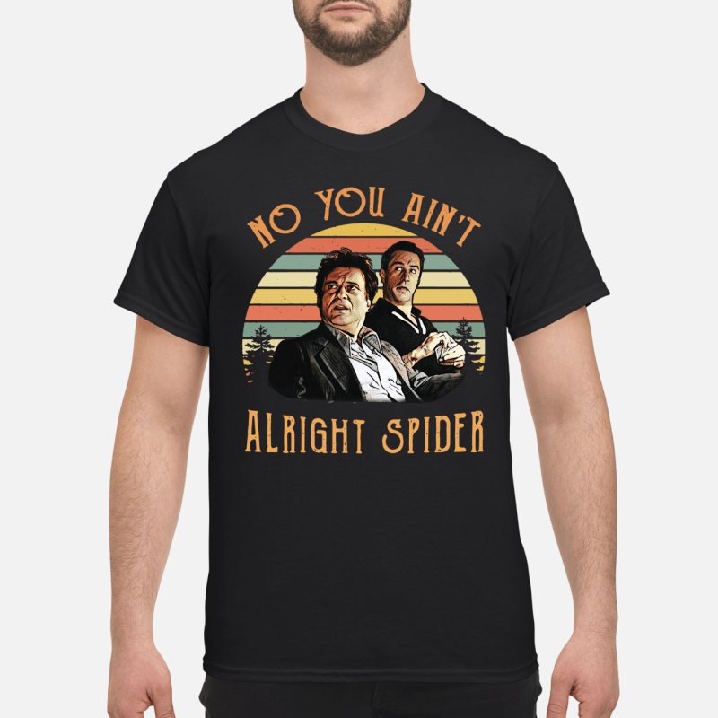Goodfellas Tommy DeVito Jimmy Conway no you ain't alright spider retro kid shirt