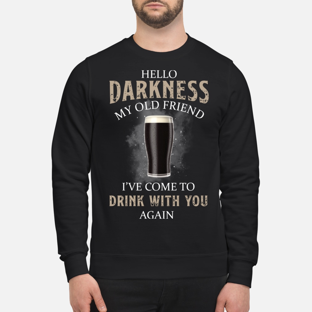 Hello my old friend I've come to drink with you kid shirt sweater