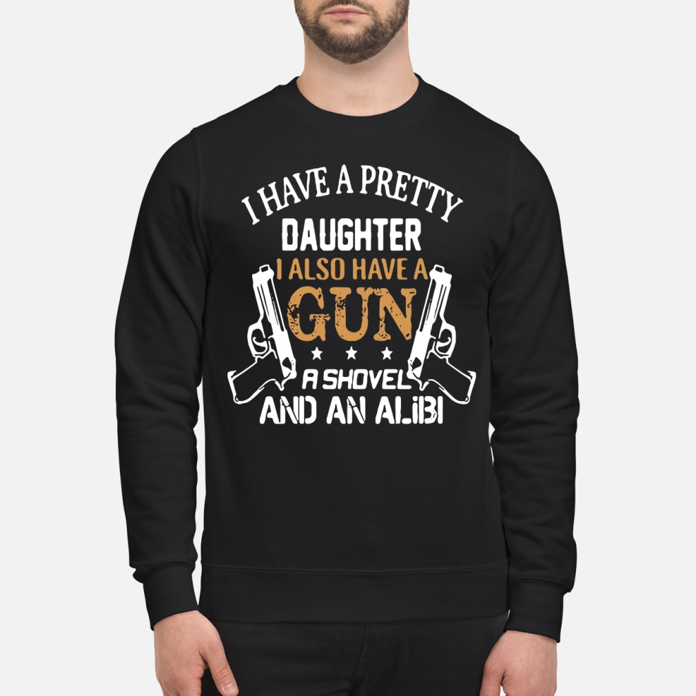 I have a pretty daughter i also and an alibi sweater