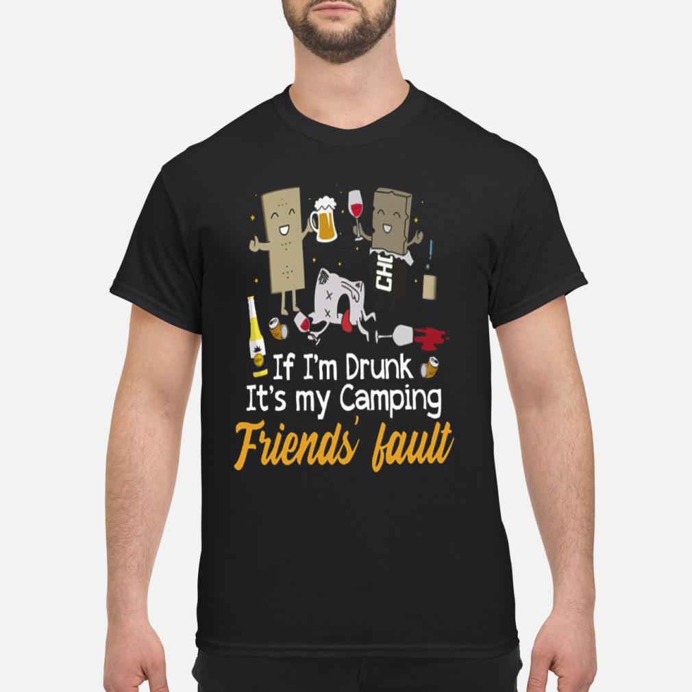 If I'm Drunk It's My Fault kid shirt