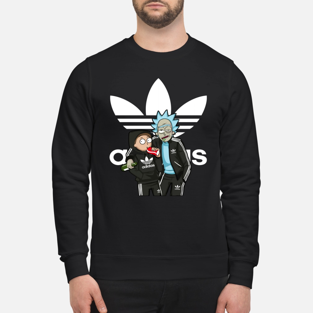 Rick and morty adidas Shirt sweater
