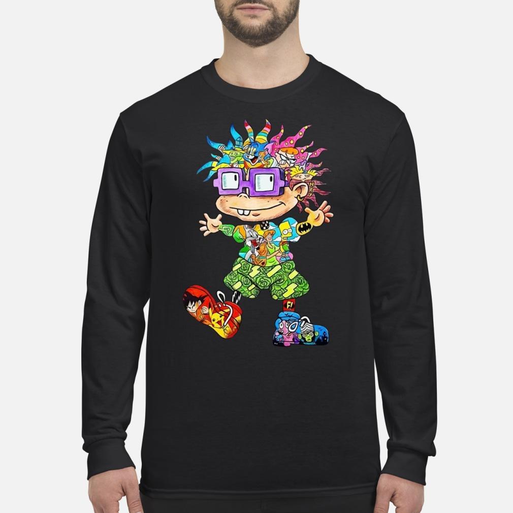Rugats Chuckie 90s Cartoons shirt Long sleeved
