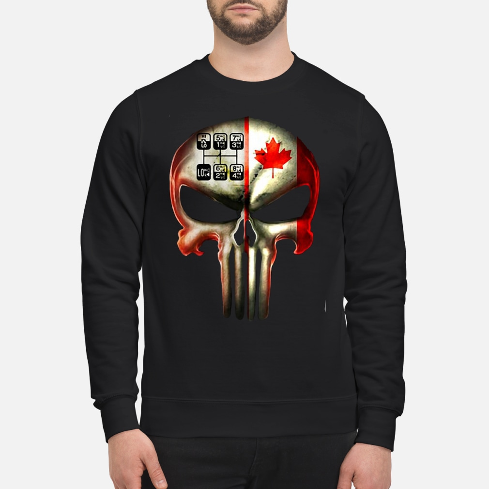 18 speed skull shirt sweater