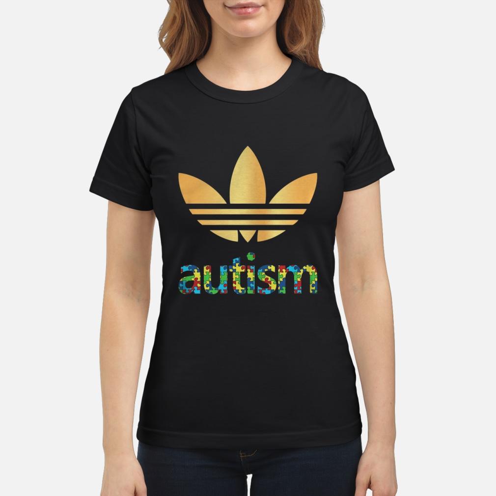 Adidas Autism Awareness shirt ladies tee