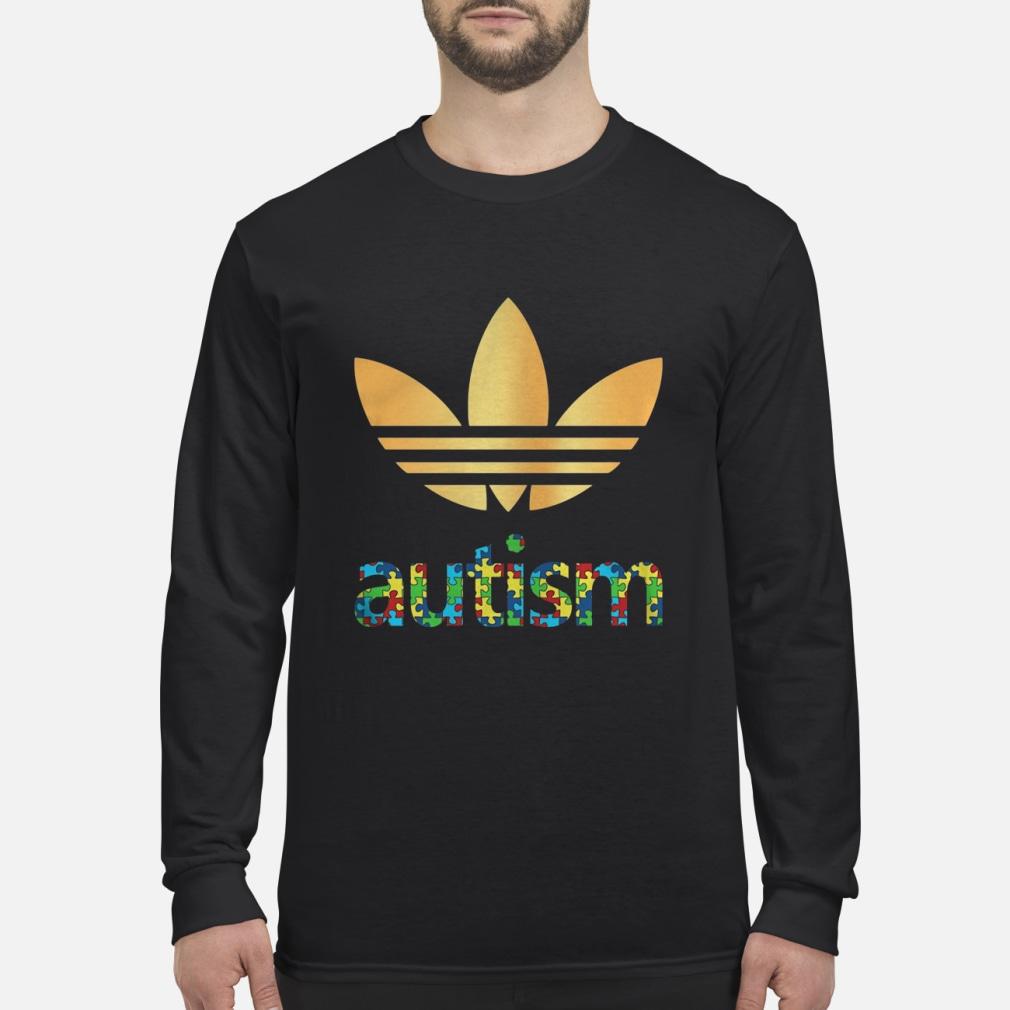 Adidas Autism Awareness shirt Long sleeved
