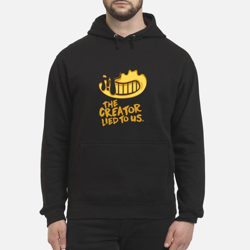 Bendy And The Ink Machine Shirt hoodie