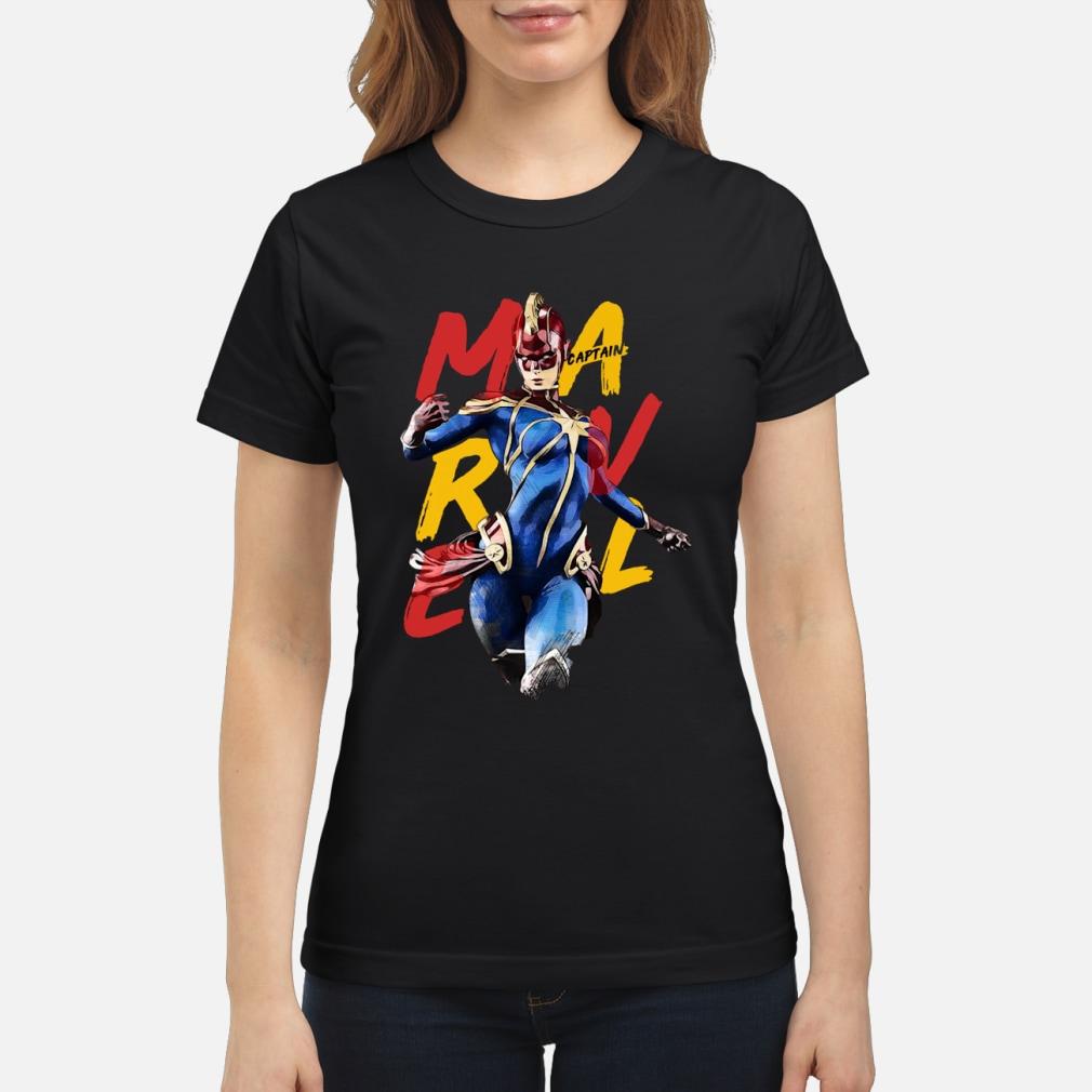 Captain Marvel kid shirt ladies tee