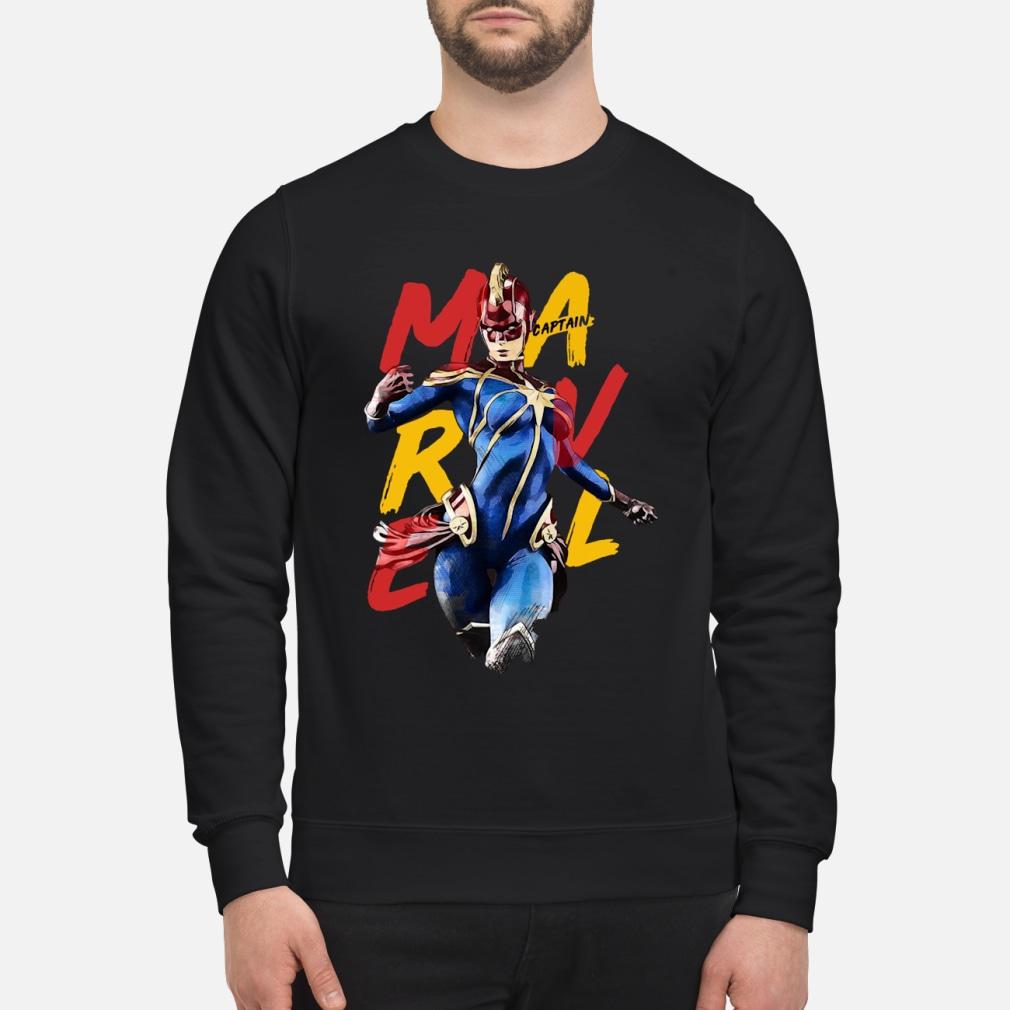 Captain Marvel kid shirt sweater