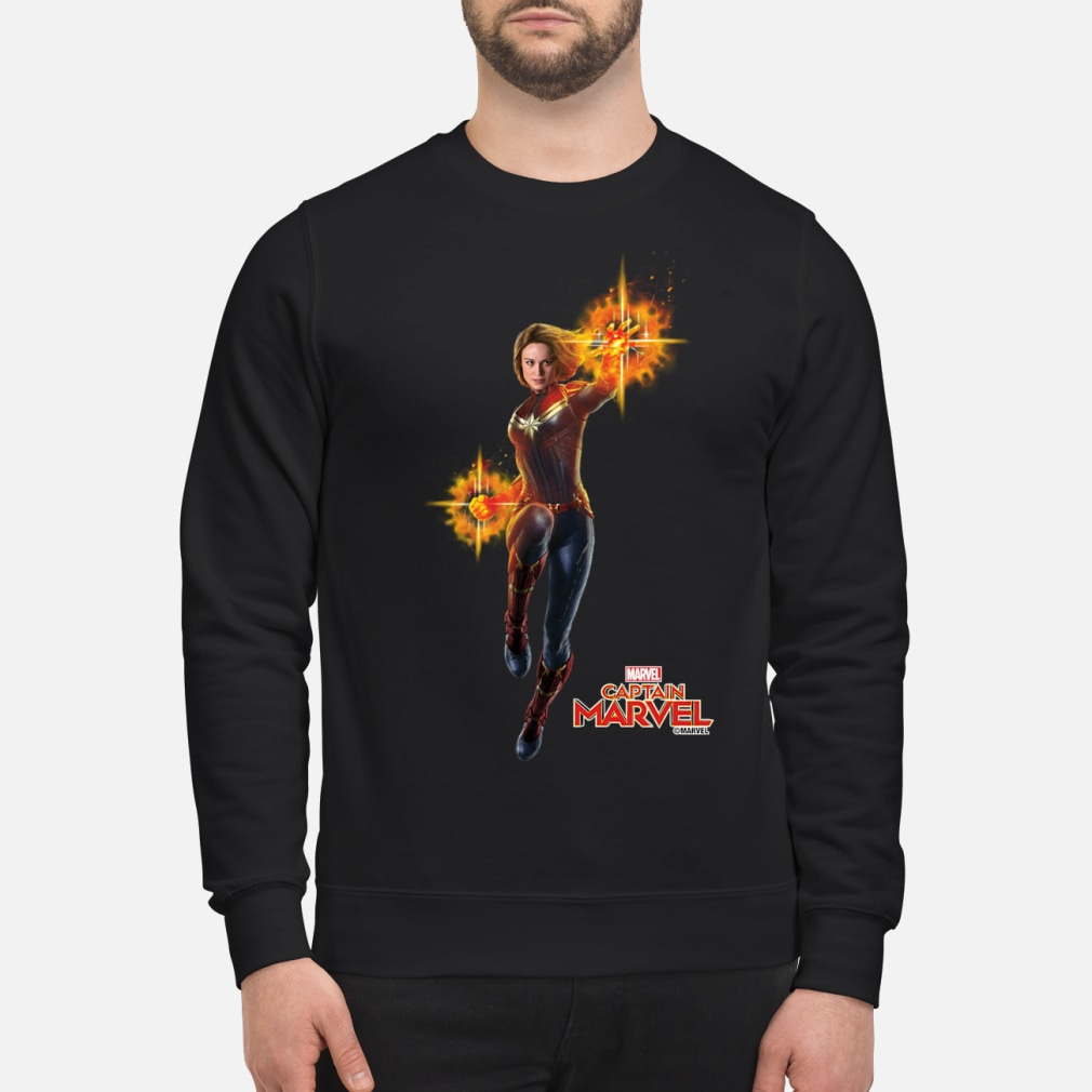 Captain Marvel punch shirt sweater