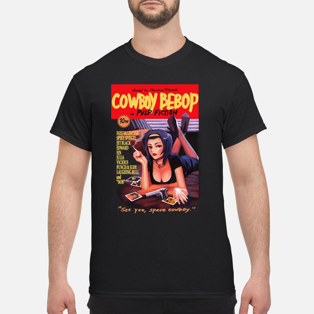 Cowboy Bebop pulp fiction see kid shirt