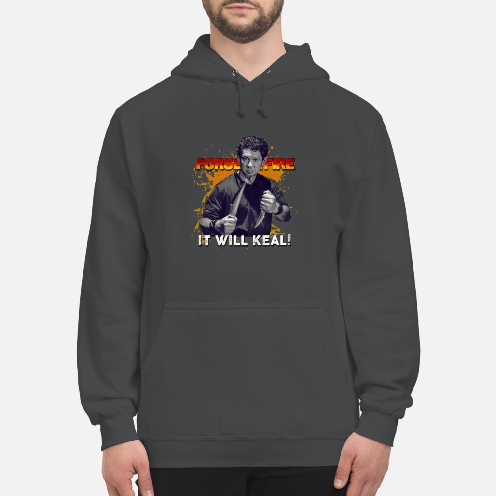 Doug Marcaida Forged in fire shirt hoodie
