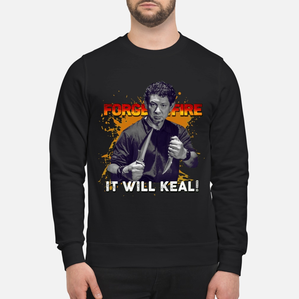 Doug Marcaida Forged in fire shirt sweater