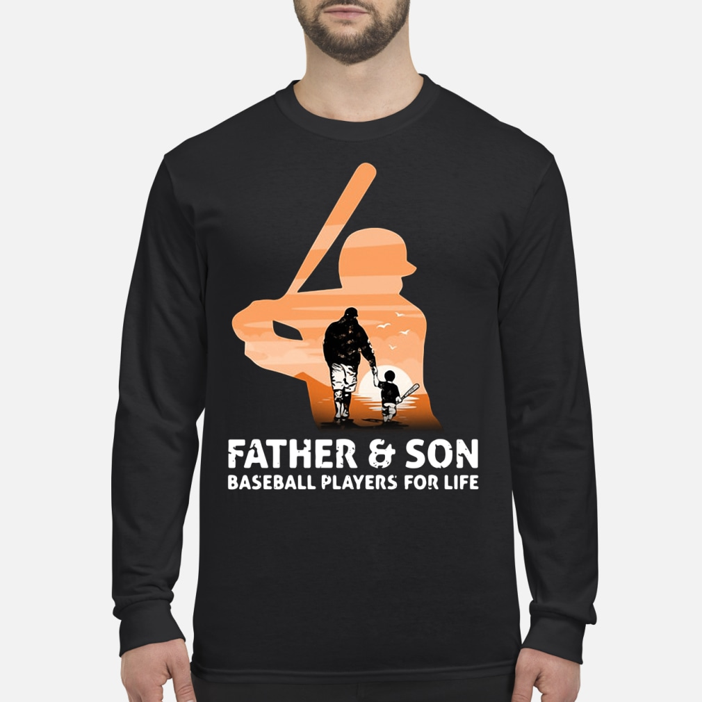 Father and son for life kid shirt long sleeved