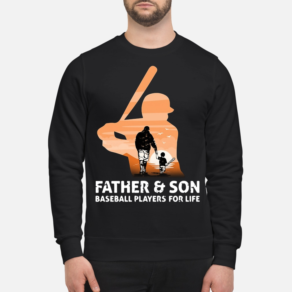 Father and son for life kid shirt sweater