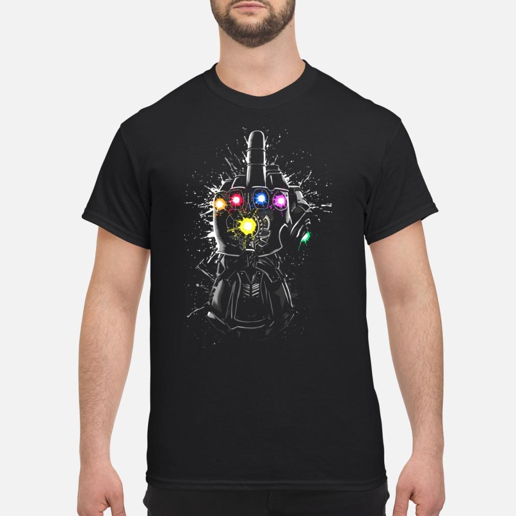 Fuck Thanos Gauntlet Avengers Endgame shirt