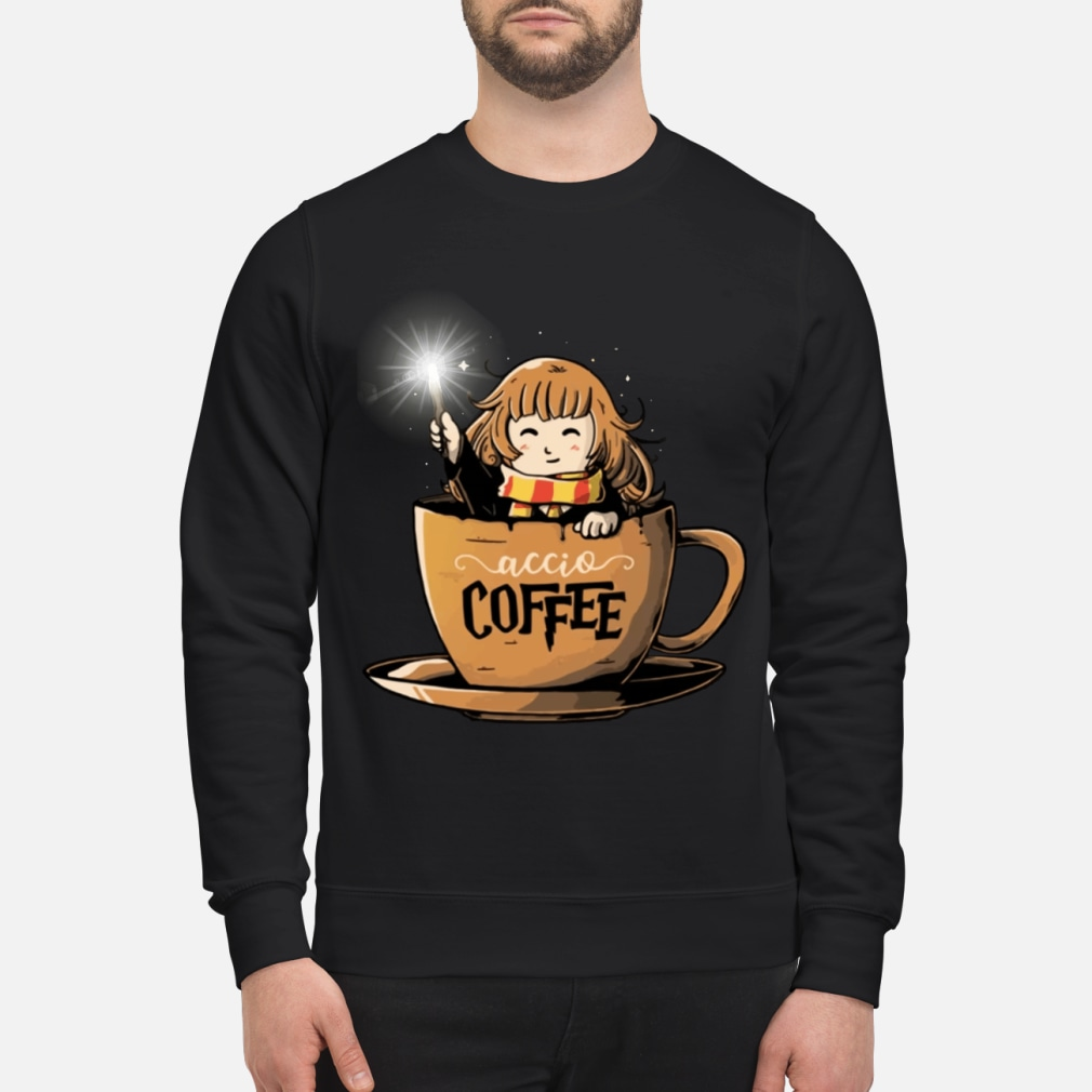 Hermione Harry Potter Accio Coffee shirt sweater