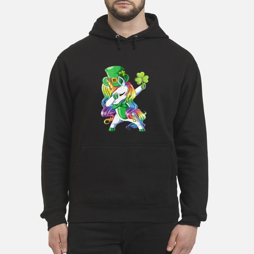 Irish Dabbing Unicorn Patricks shirt hoodie