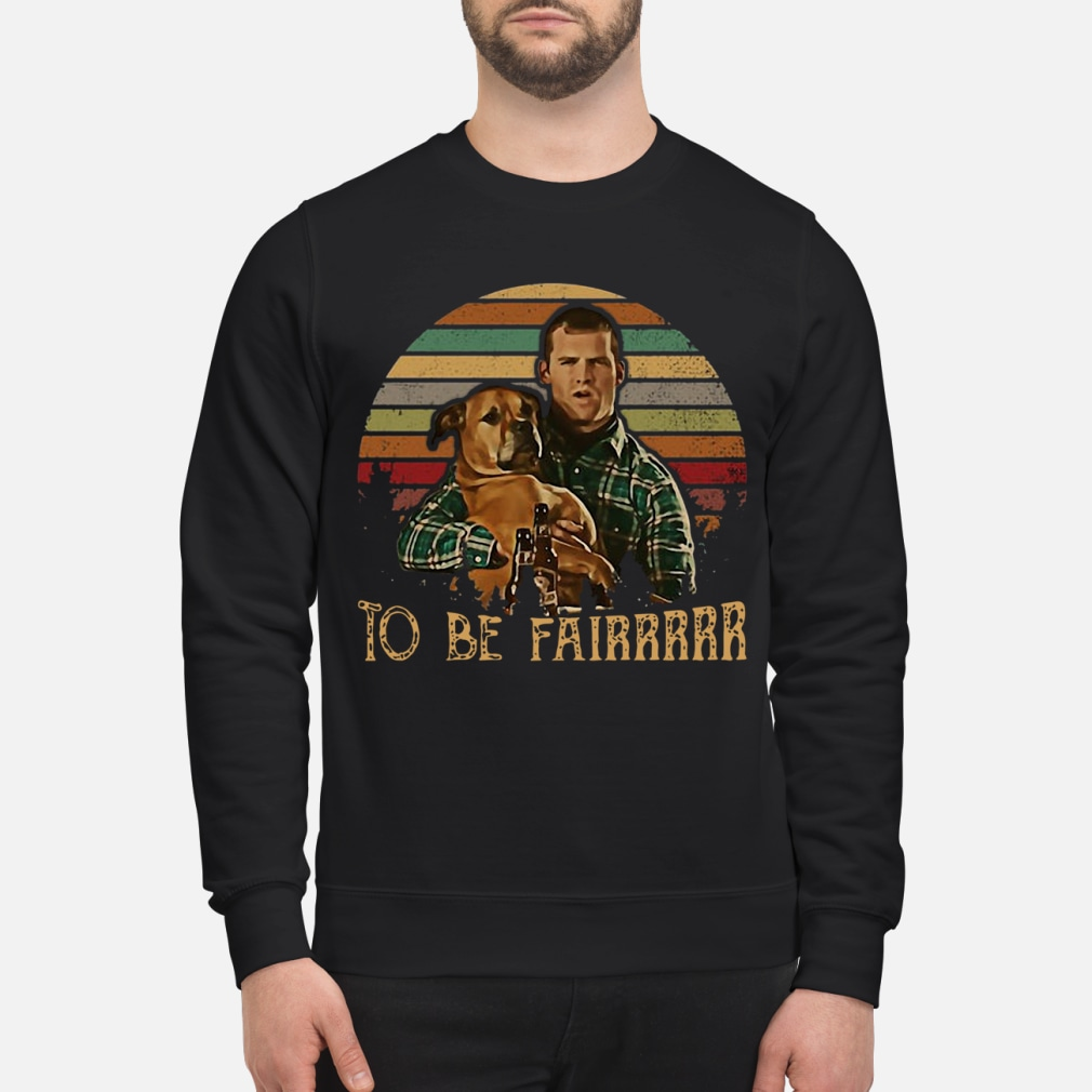 Letterkenny hug dog to be sunset retro shirt sweater