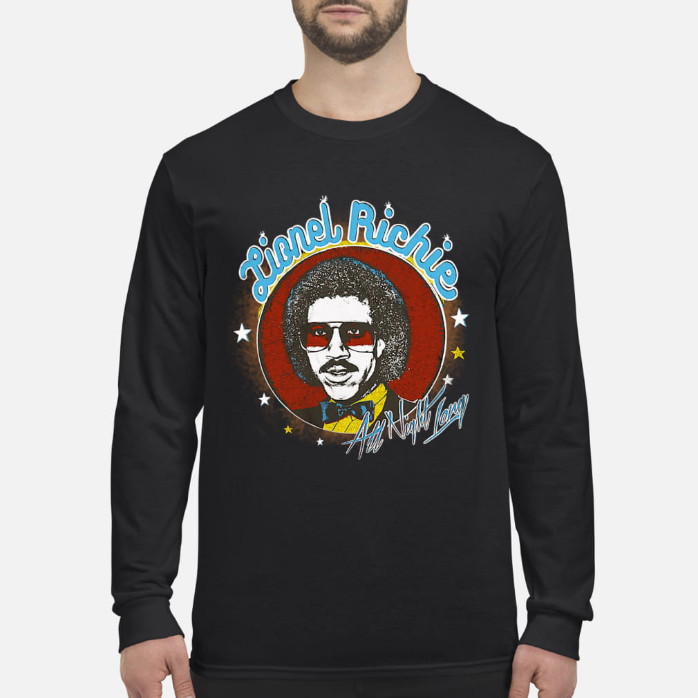 Lionel Richie All Night Shirt Long sleeved