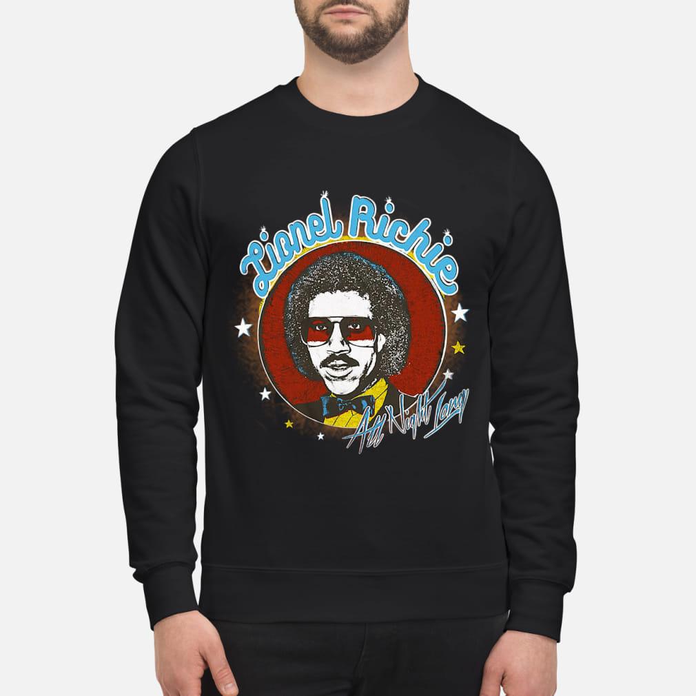 Lionel Richie All Night Shirt sweater
