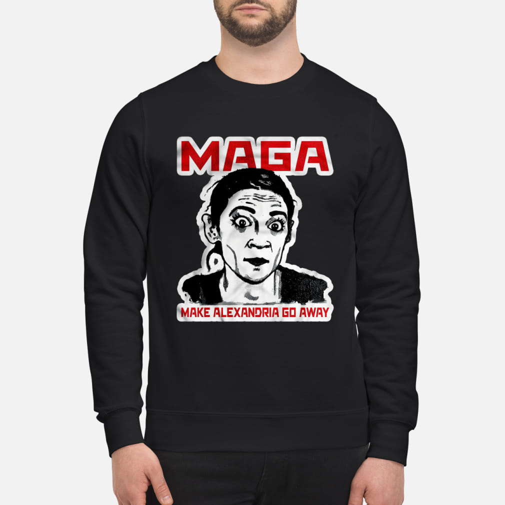 Maga make Alexandria go away kid shirt sweater