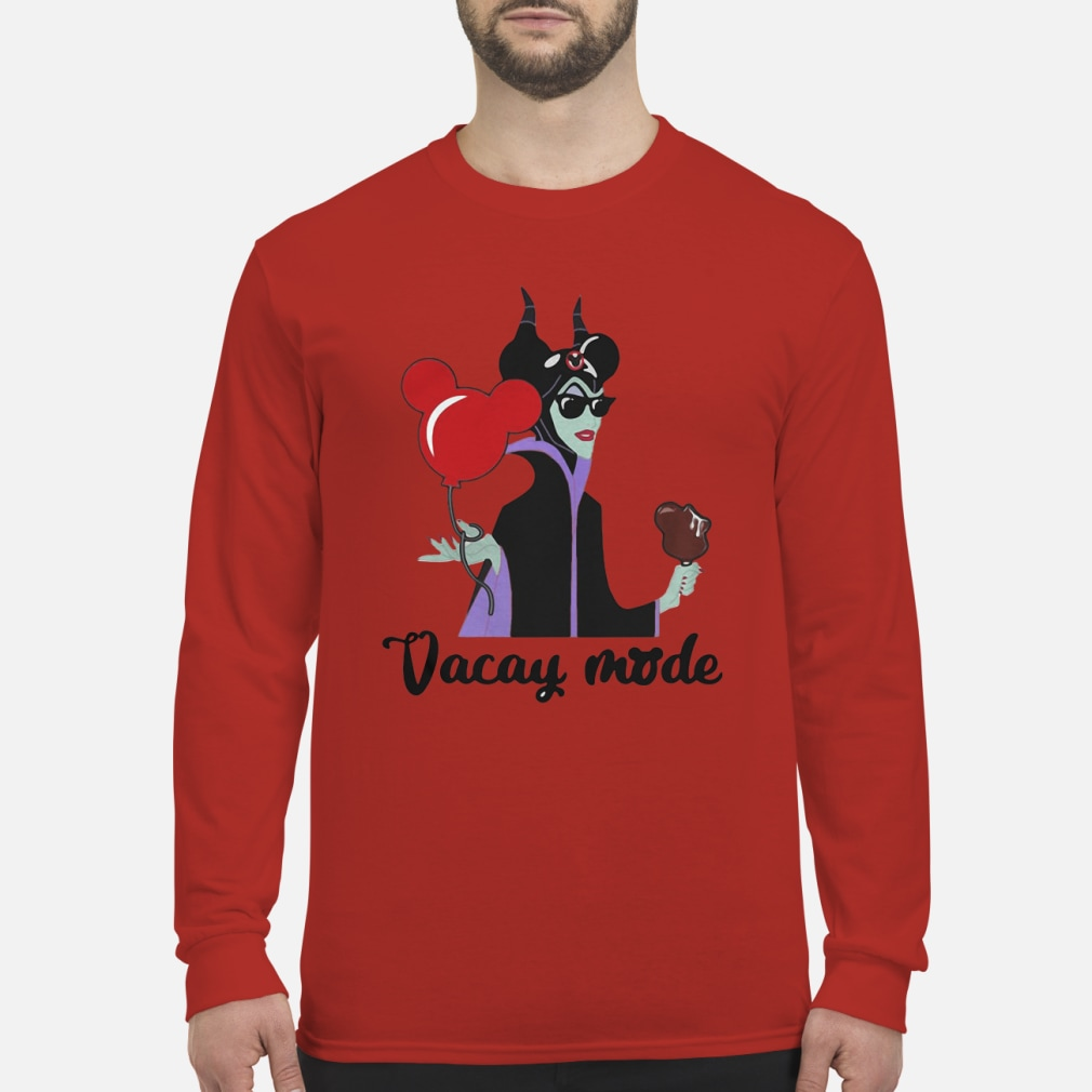 Maleficent Vacay ladies shirt Long sleeved