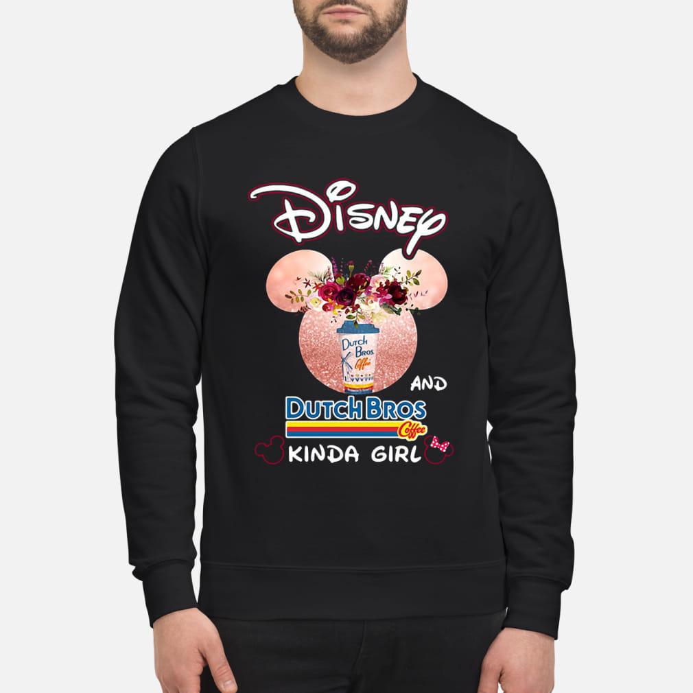 Mickey Mouse Disney and coffee kinda girl kid shirt sweater