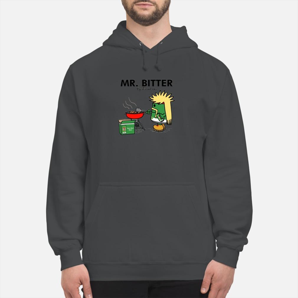 Mr Bitter cooking very best beer ladies tee shirt hoodie
