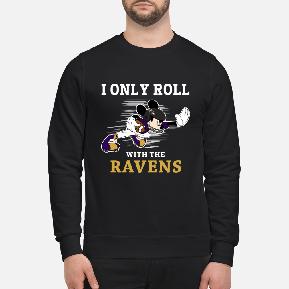 NFL Mickey Mouse I only kid shirt sweater