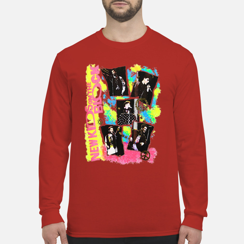 New Kids on the Block Promo ladies shirt Long sleeved