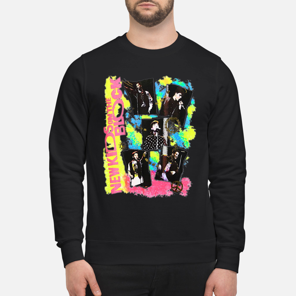 New Kids on the Block Promo ladies shirt sweater