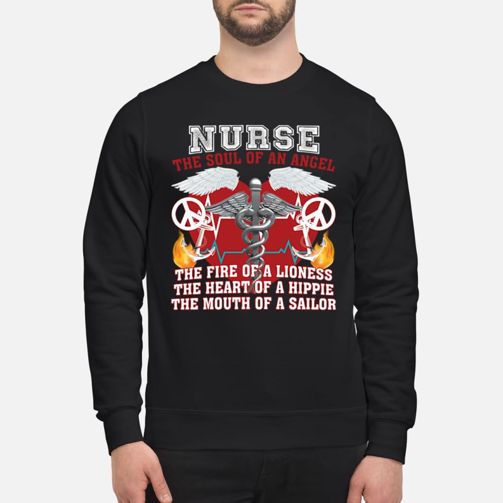 Nurse The Soul Of An Angel Shirt sweater