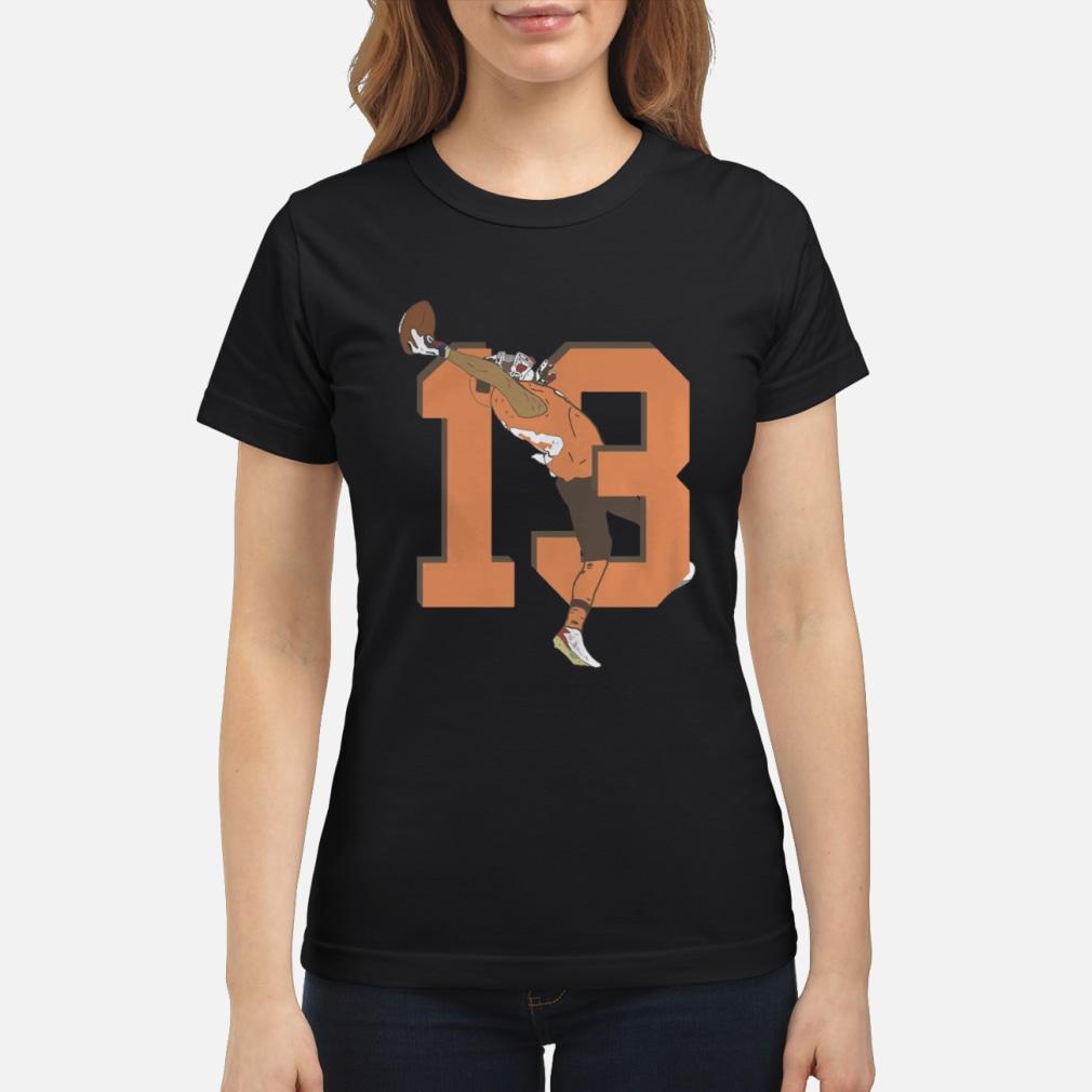 Odell Beckham Jr. Browns 13 Catch