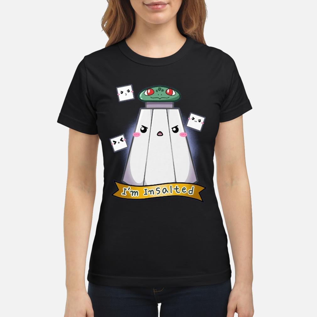 Official Saltecrafter Merch Shirt ladies tee