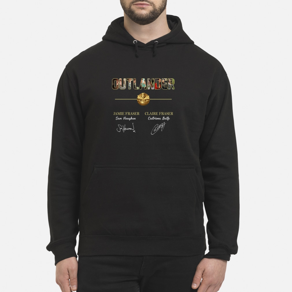 Outlander Jamie Fraser and Claire Fraser shirt hoodie