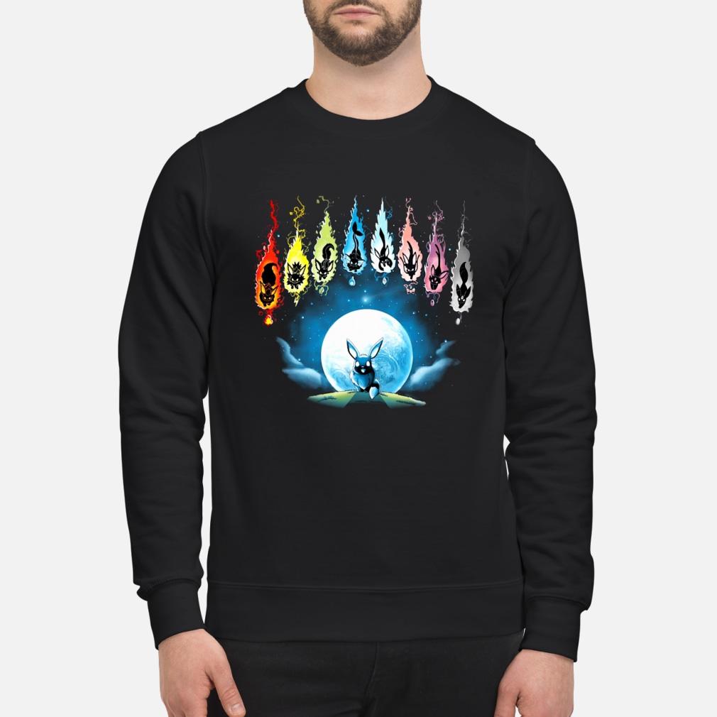 Pokemon Eevee Evolution shirt sweater