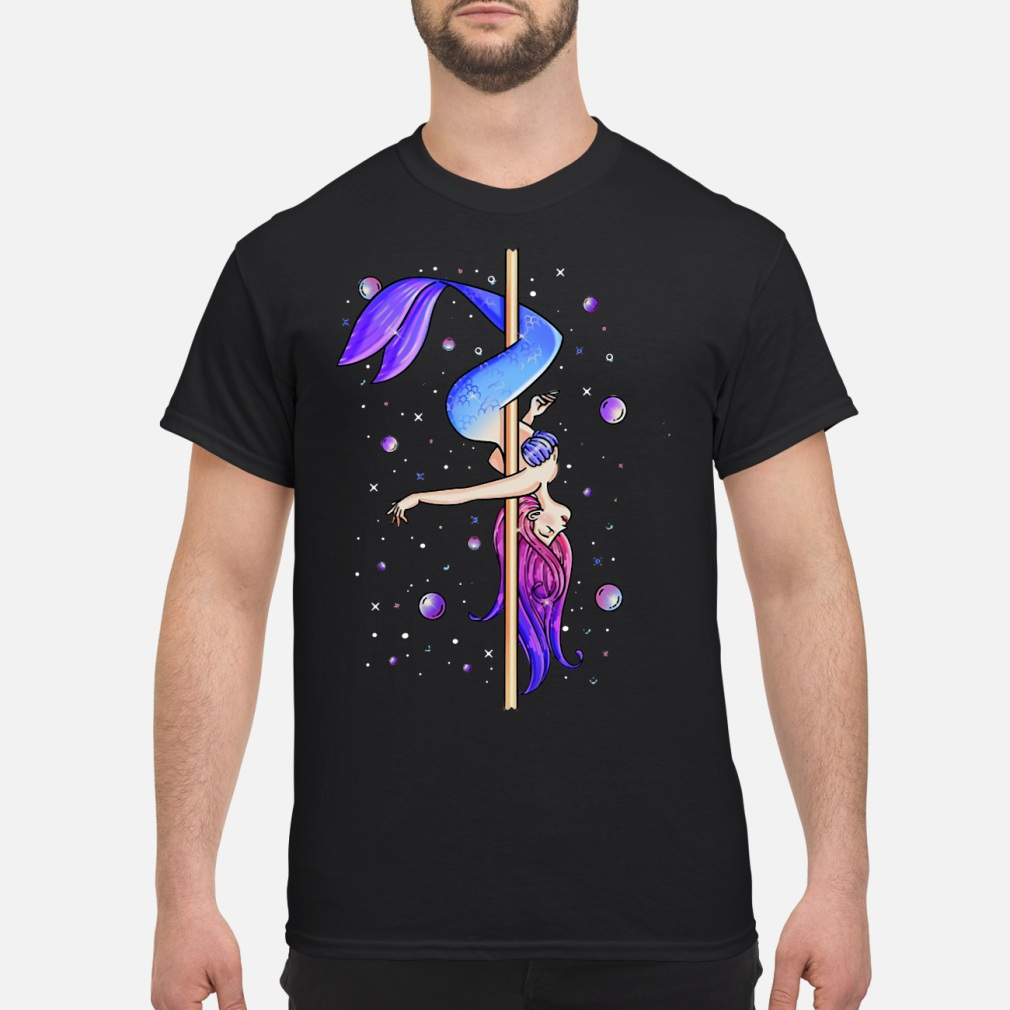 Pole dancing Mermaid shirt