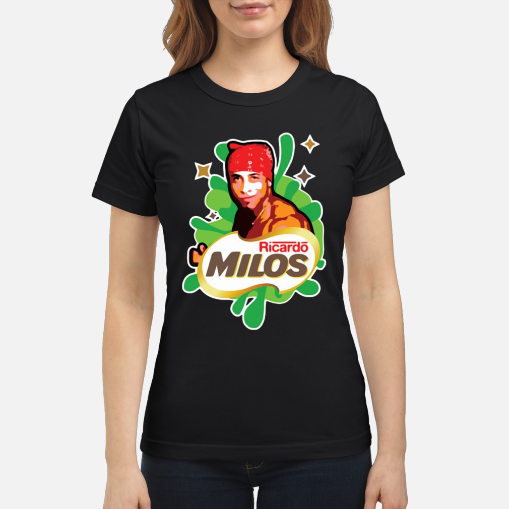 Ricardo Milos logoposting women shirt ladies tee