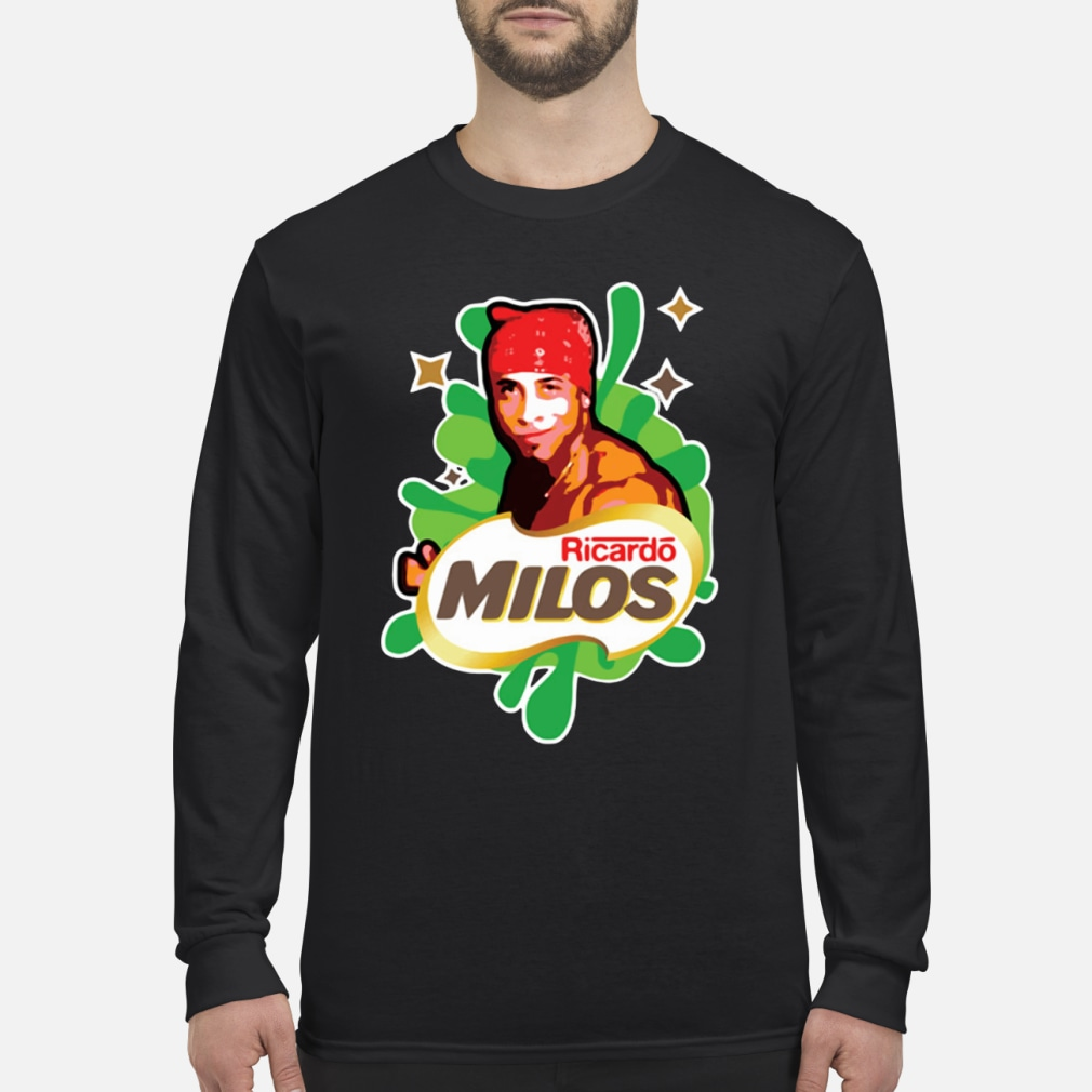 Ricardo Milos logoposting women shirt Long sleeved