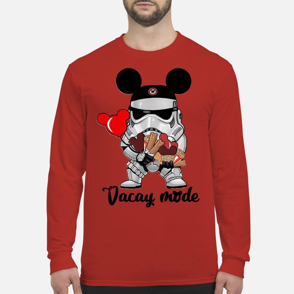 Star Wars Stormtrooper Micky Vacay Mode shirt Long sleeved