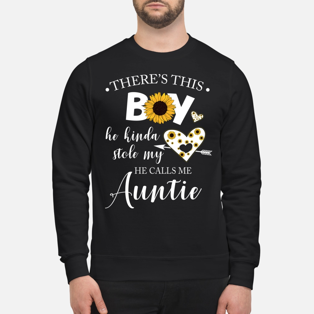 There is this boy he kinda stole my heart he kid shirt sweater