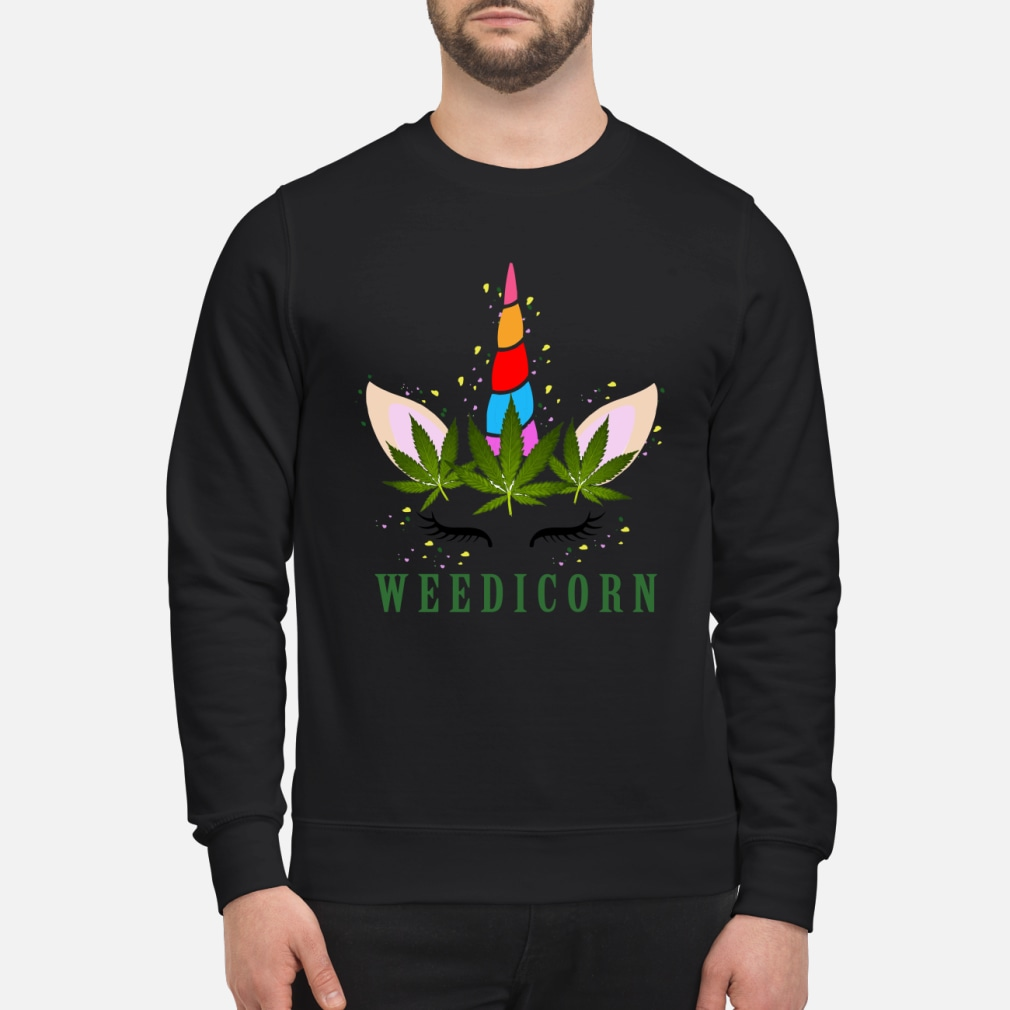 Unicorn weedicorn shirt sweater