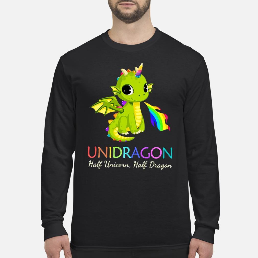 Unidragon half unicorn half unicorn shirt Long sleeved