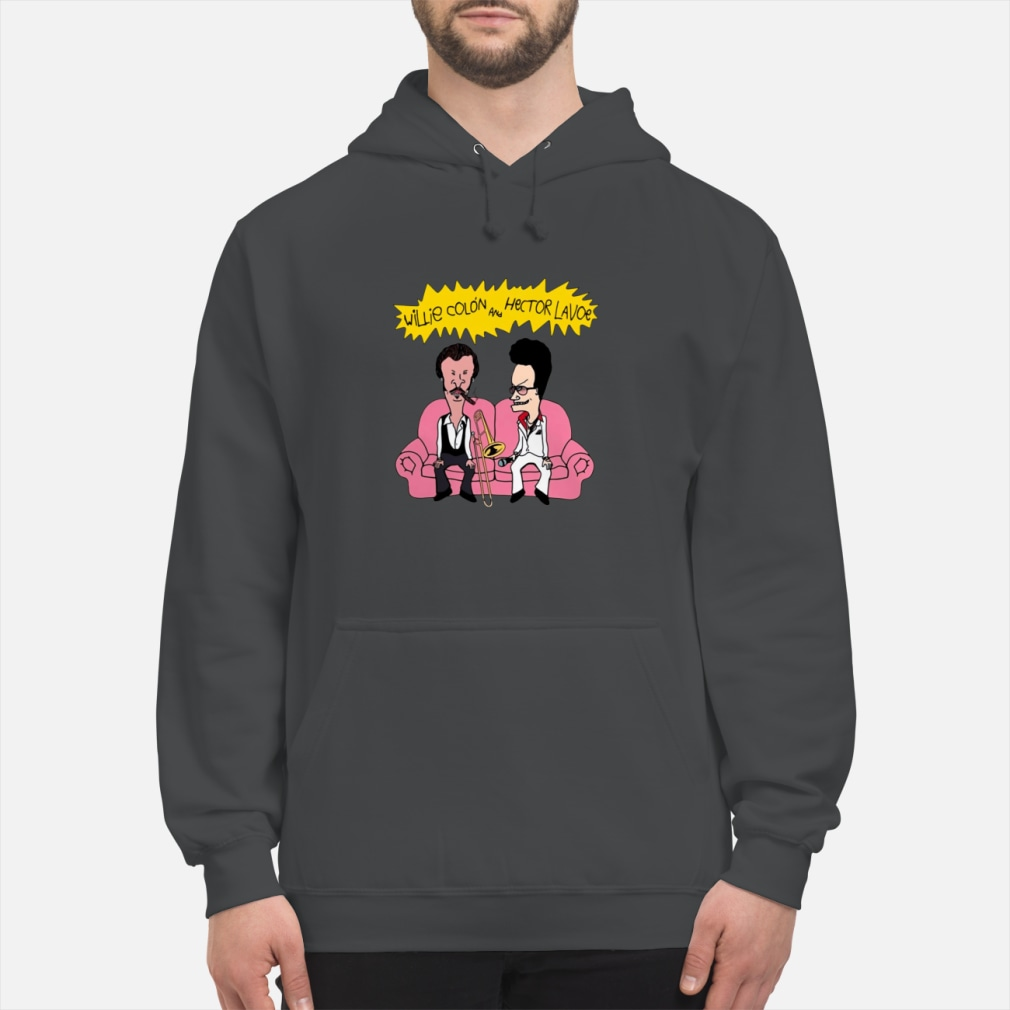 Willie Colon And Hector Lavoe Shirt hoodie