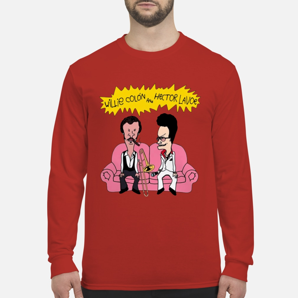 Willie Colon And Hector Lavoe Shirt Long sleeved