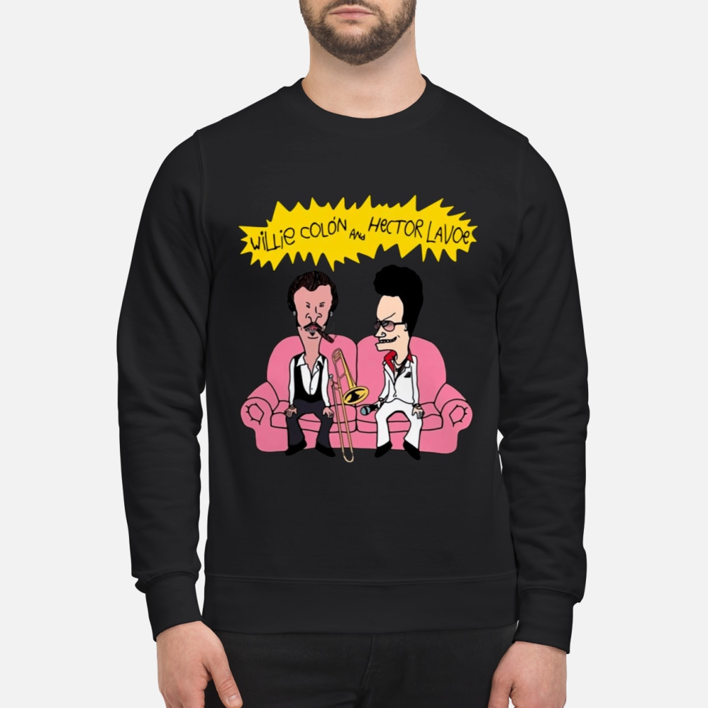 Willie Colon And Hector Lavoe Shirt sweater
